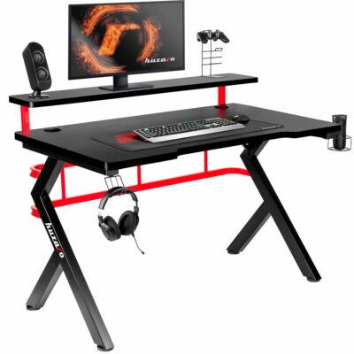 Huzaro Hero 5.0 RED Gamer asztal