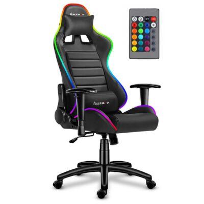 Huzaro Force 6.0 Gamer szék RGB LED világítással