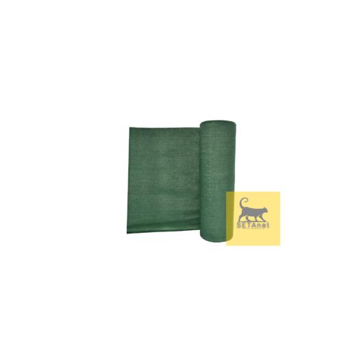 Árnyékoló háló,  UV,  62% árnyékolás, UV védelem, Zöld  65g