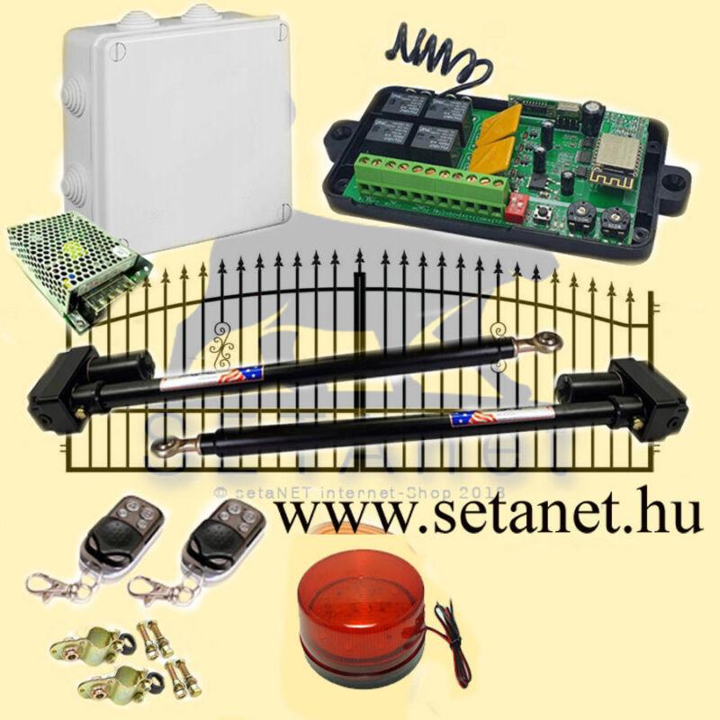 SETA-1 (478) Kétszárnyas kapunyitó szett - WIFI + Telefonos applikáció